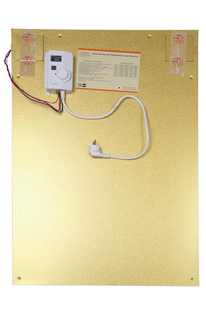 Электрическая нагревательная панель 850x600 мм.