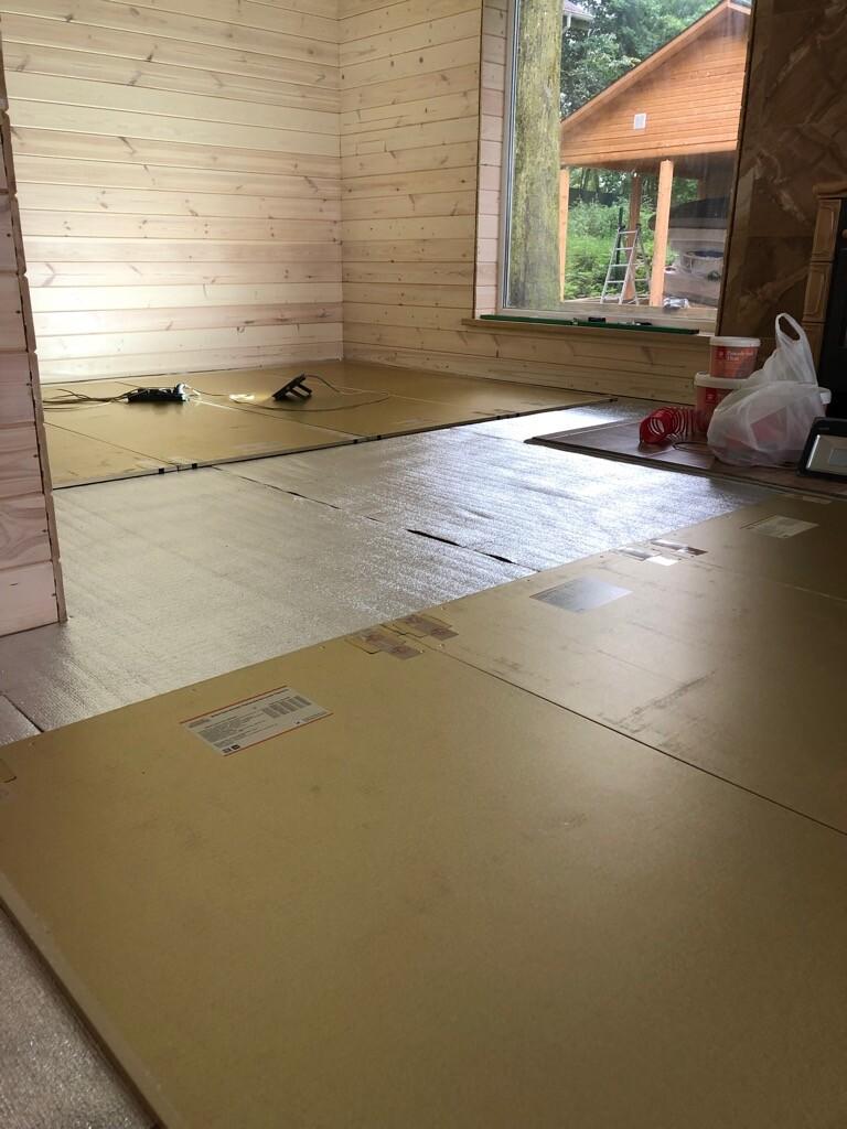 Электрическая панель. Теплый пол для отопления каркасных домов. Отопление деревянного дома Хотпанел