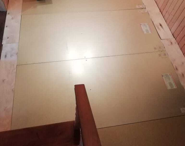 Электрическая нагревательная панель Хот панель 2300x850мм 360 Вт