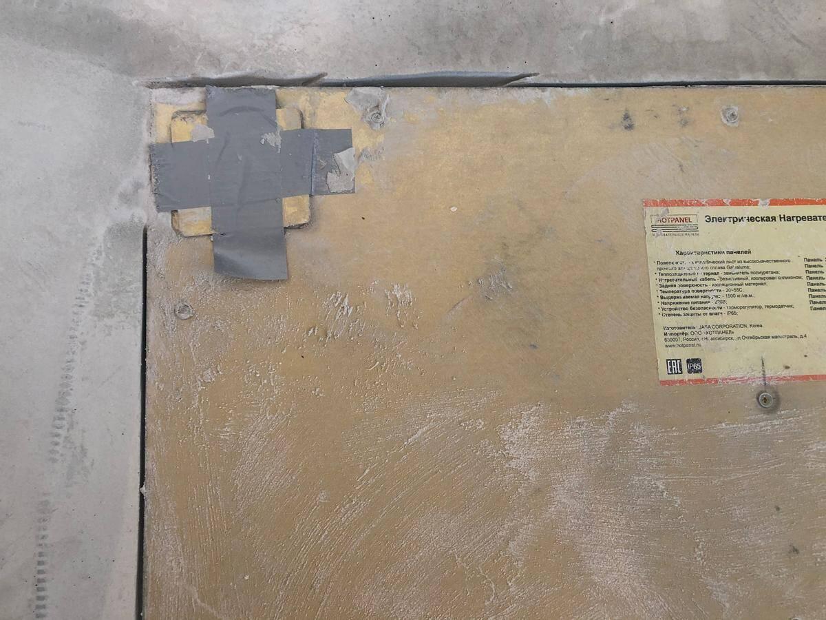 Как укладывать плитку на панели Хотпанел