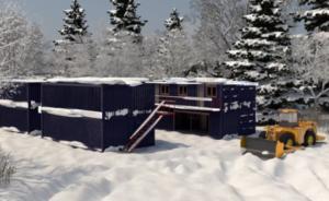 Электрические панели Хотпанел для обогрева модульных зданий