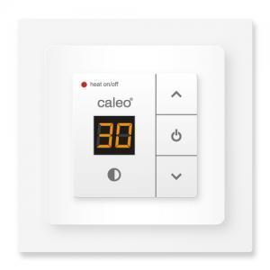 Терморегулятор CALEO 720 с адаптерами, встраиваемый цифровой, 3,5 кВт для электрических панелей Хотранел