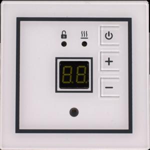 Терморегулятор TP-Quadrato встраиваемый, белый, 3.5кВт