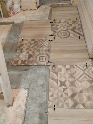 Теплый пол Хотпанел на деревянный пол под керамогранит