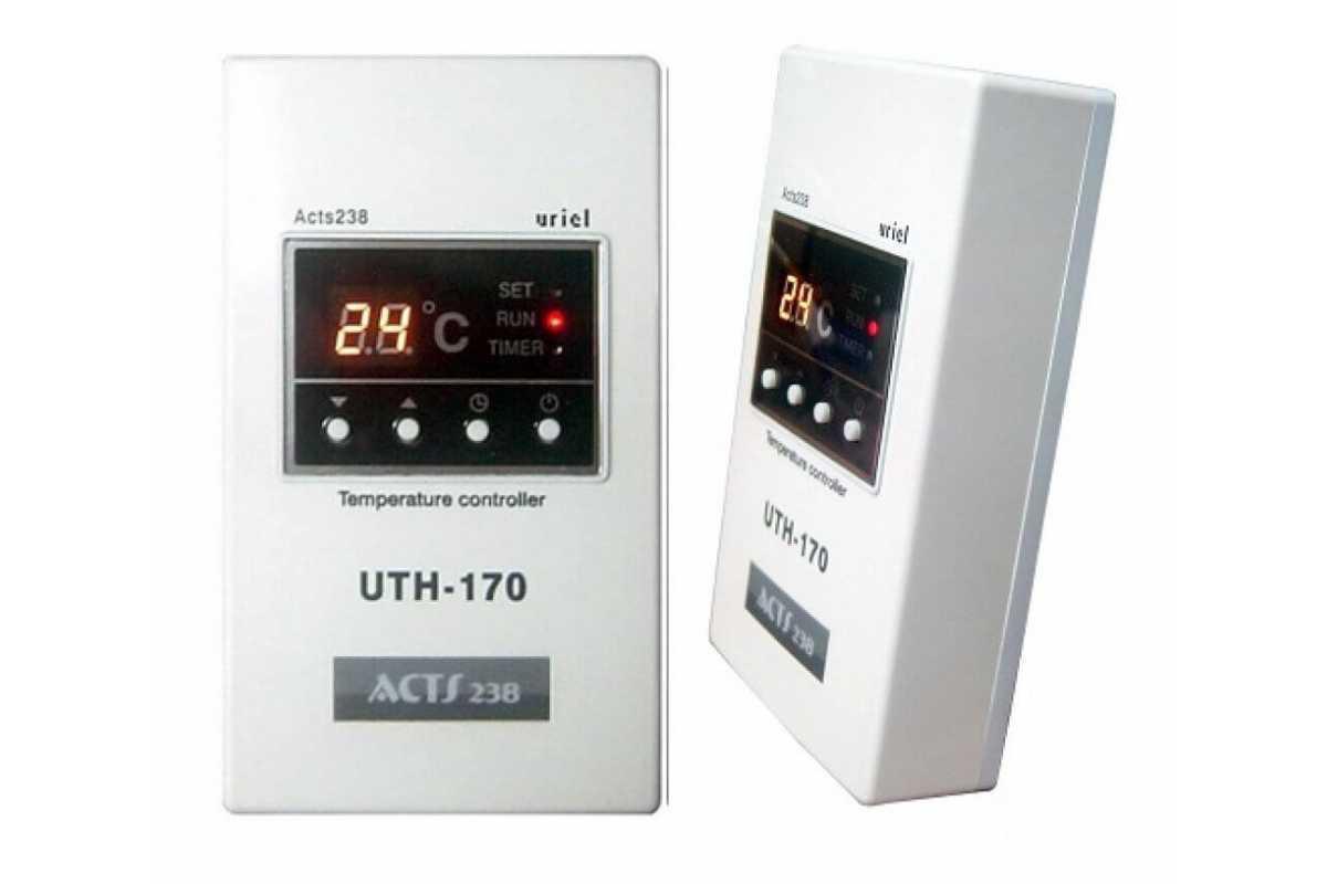 Терморегулятор UTH-170 для электрических панелей Хотпанел