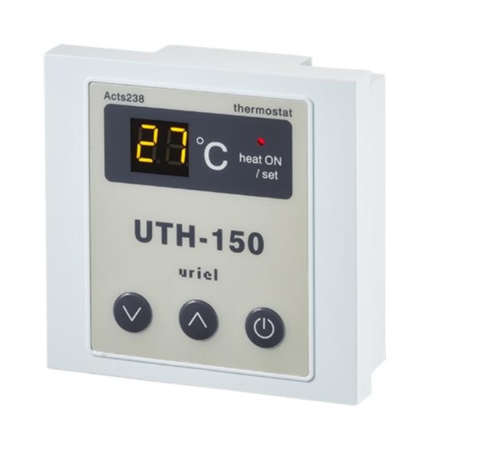 Терморегулятор UTH-150 накладной для теплого пола Хотпанел
