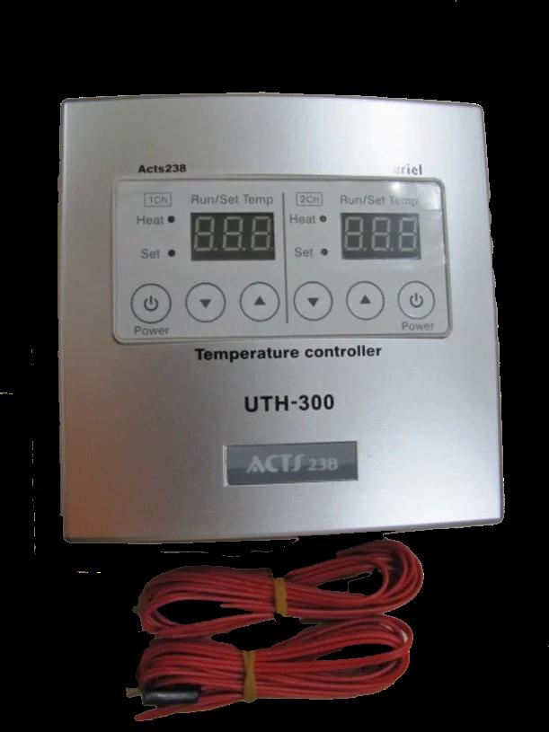 Терморегулятор UTH-300 накладной двухзональный