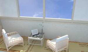 Теплый пол на балкон ил электрических панелей Хотпанел
