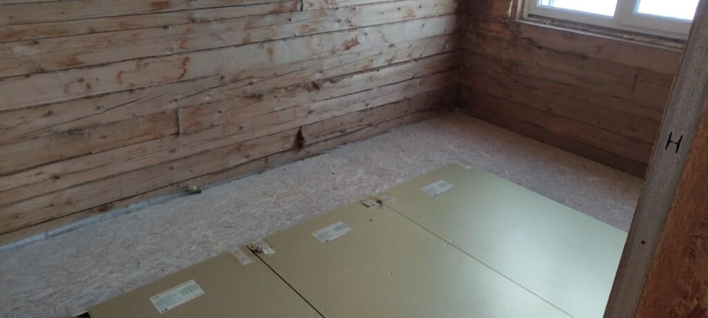 Основное отопление коттеджа из СИП панелей электрическими панелями Хотпанел в г. Кемерово