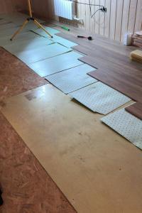 Отопление дома из СИП панелей электрическими теплыми полами Хотпанел