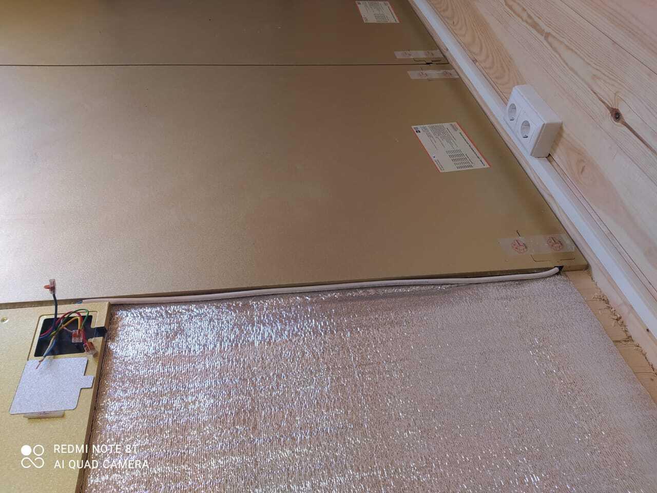 Отопление каркасного дома электрическими панелями Хотпанел.