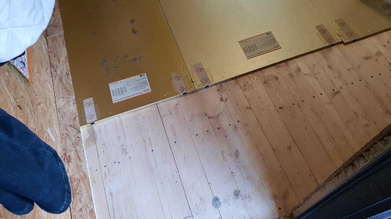 Отопление деревянного дома электрическими панелями HotPanel в г. Уфе